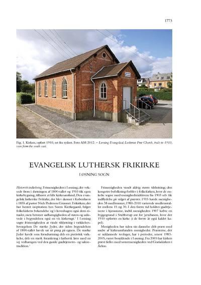 Evangelisk luthersk frikirke i Løsning