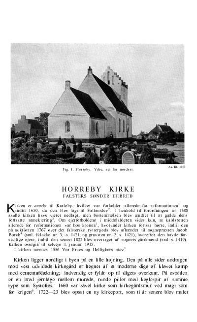 Horreby Kirke