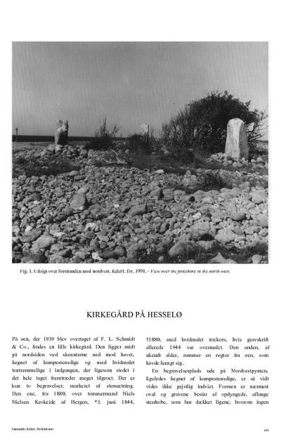 Kirkegård på Hesselø