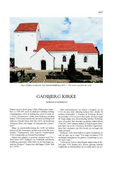 Gadbjerg Kirke