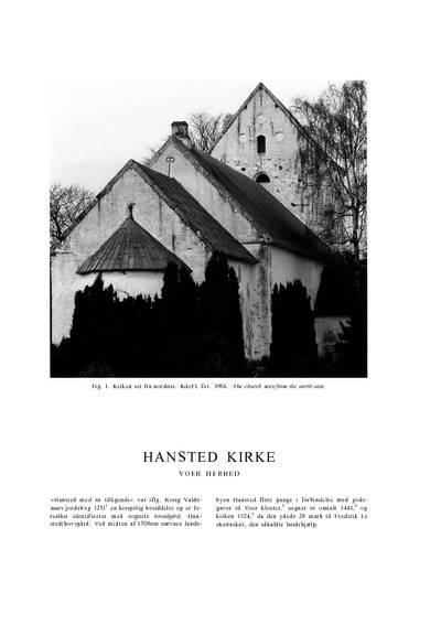 Hansted Kirke