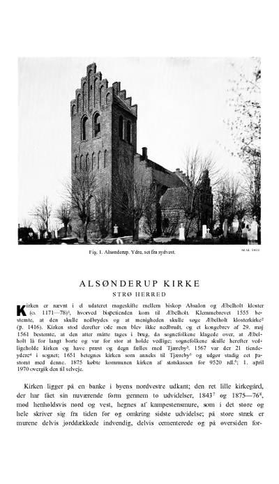 Alsønderup Kirke