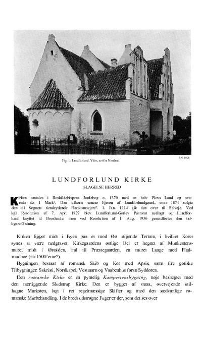 Lundforlund Kirke
