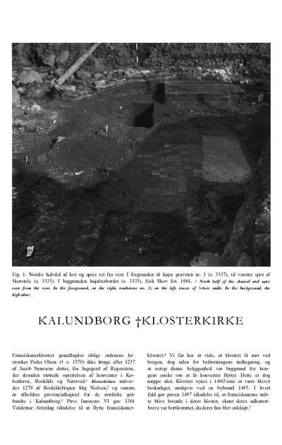 Kalundborg †Klosterkirke