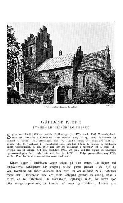 Gørløse Kirke