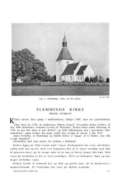 Slemminge Kirke