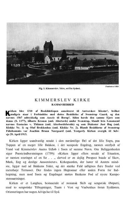 Kimmerslev Kirke