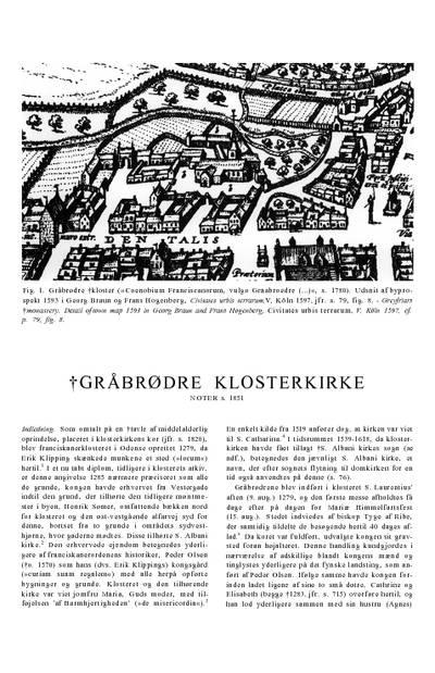 Gråbrødrenes †Klosterkirke