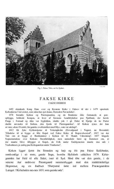 Fakse Kirke