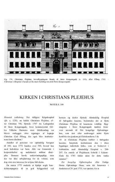 Kirken i Christians plejehus