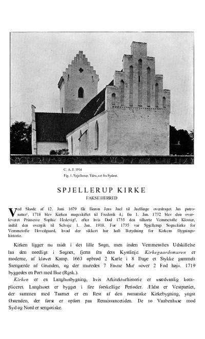 Spjellerup Kirke