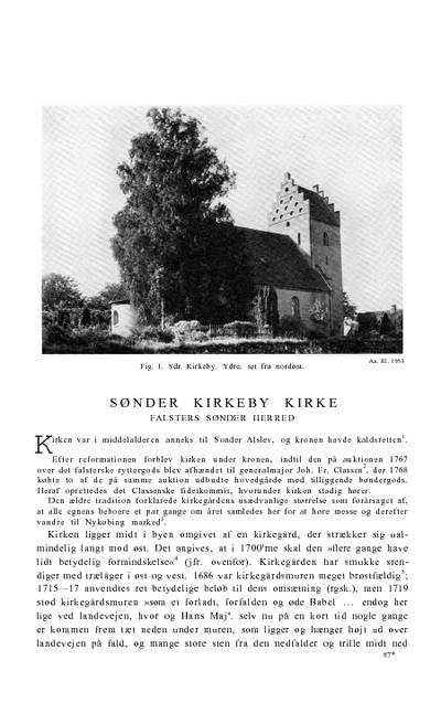 Sønder Kirkeby Kirke