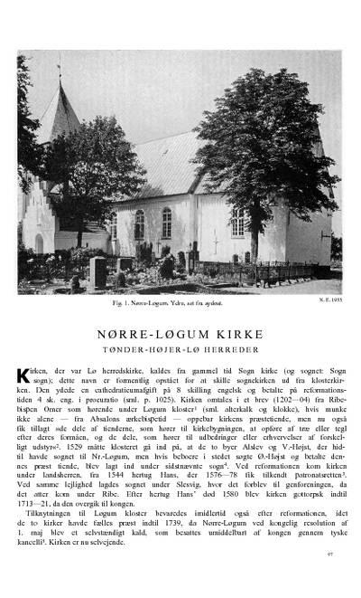 Nørre-Løgum Kirke