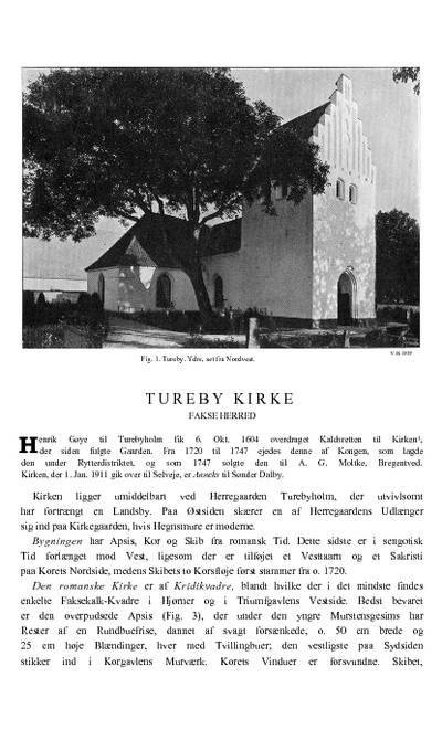 Tureby Kirke