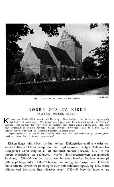 Nørre Ørslev Kirke