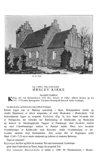 Ørslev Kirke