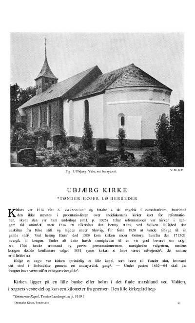 Ubjærg Kirke