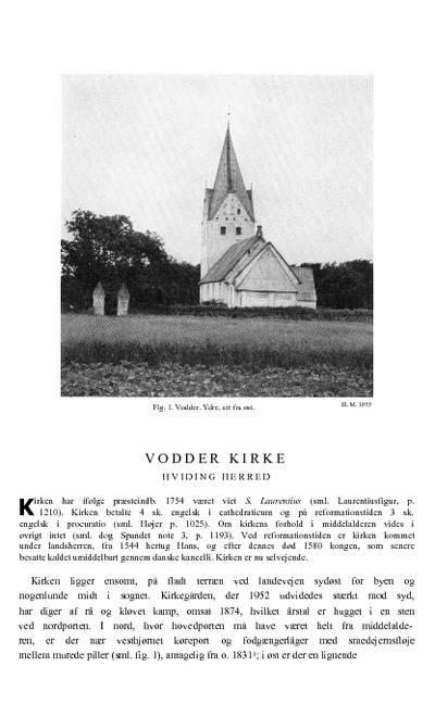 Vodder Kirke