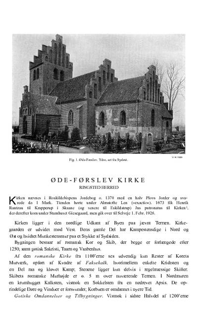 Øde-Førslev Kirke