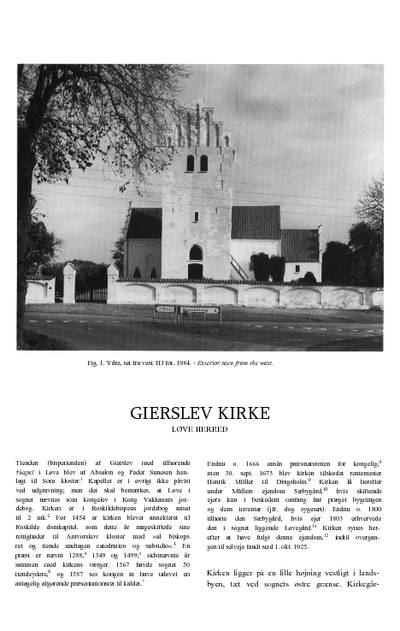 Gierslev Kirke