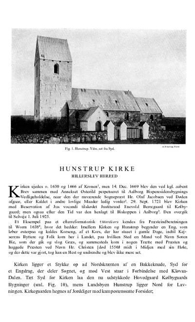Hunstrup Kirke