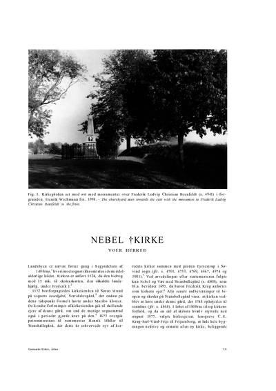 Nebel †Kirke