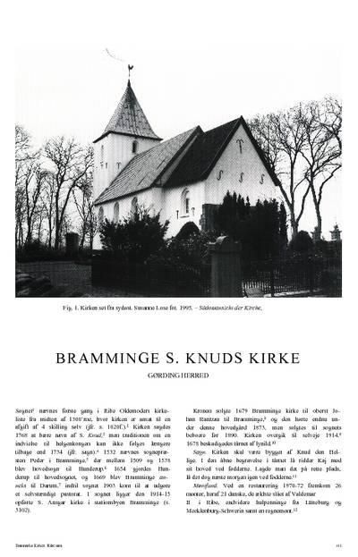 Bramminge Skt. Knuds Kirke