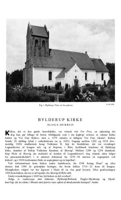 Bylderup Kirke