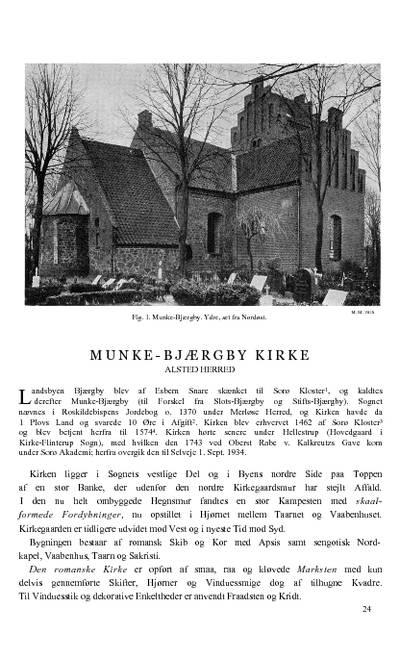Munke-Bjærgby Kirke