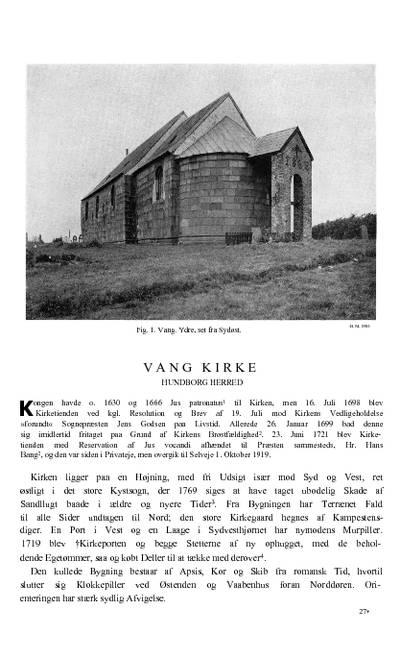 Vang Kirke