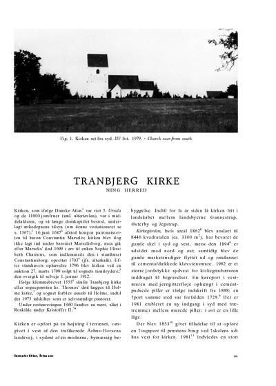 Tranbjerg Kirke