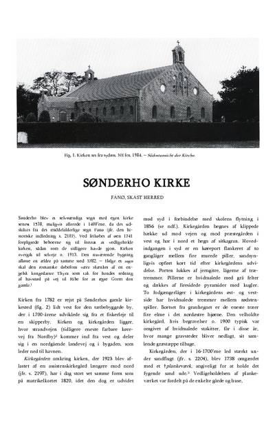 Sønderho Kirke