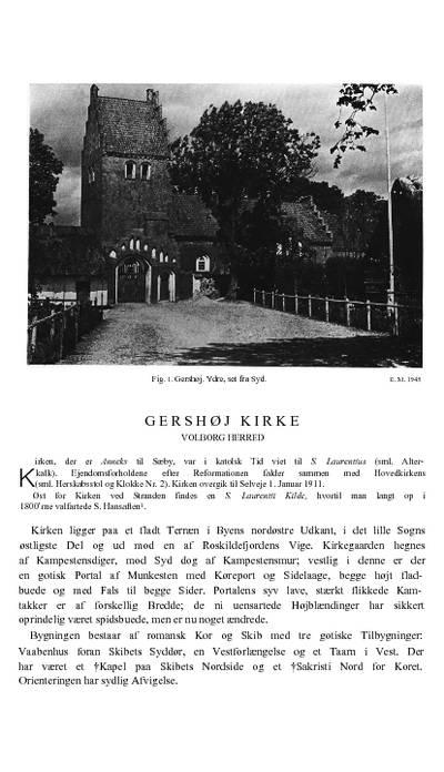 Gershøj Kirke