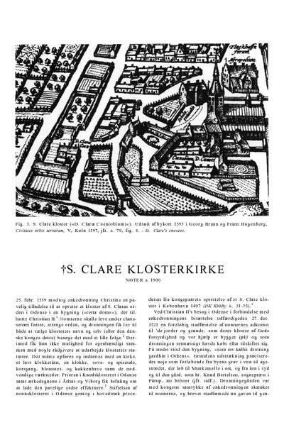 Skt. Clare †Klosterkirke