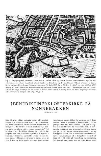 †Benediktinerklosterkirke på Nonnebakken