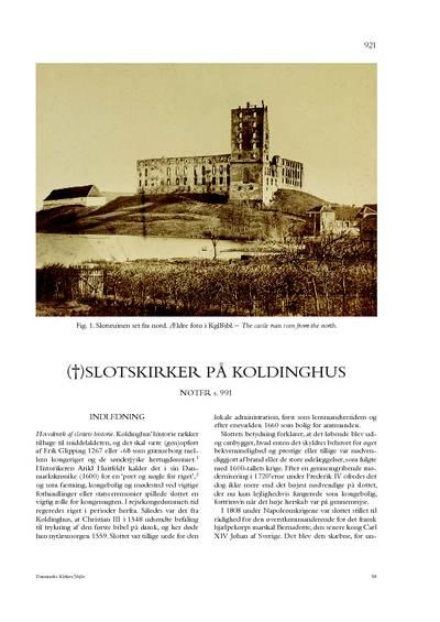 Koldinghus, slotskirker