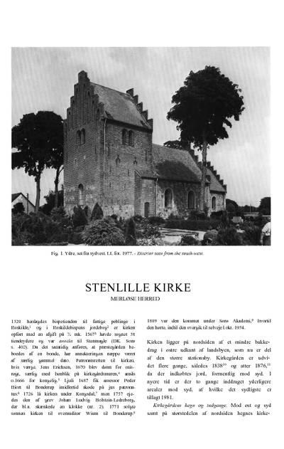 Stenlille Kirke
