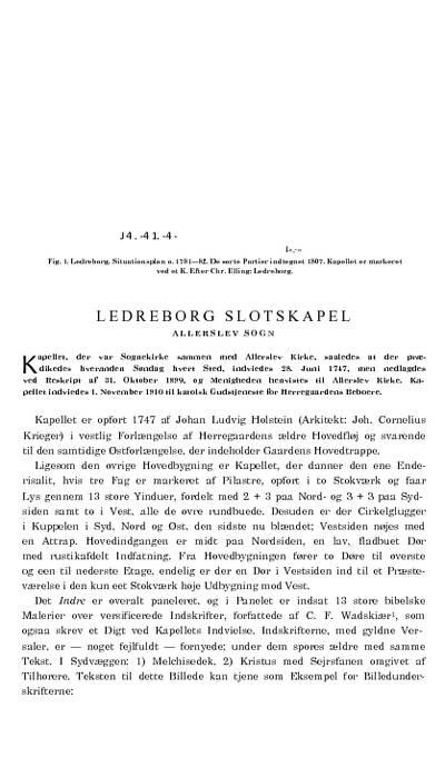 Ledreborg Slotskapel