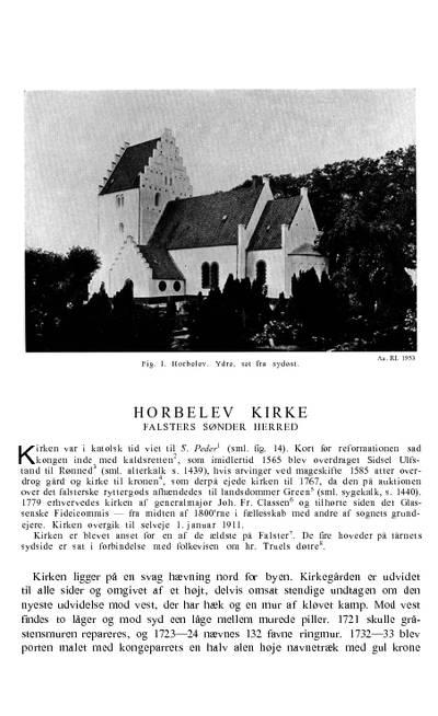 Horbelev Kirke