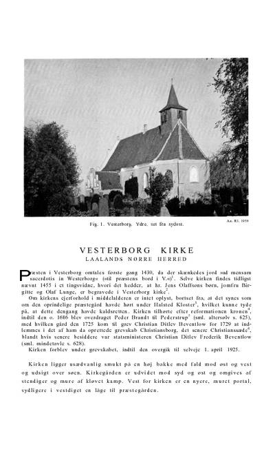 Vesterborg Kirke