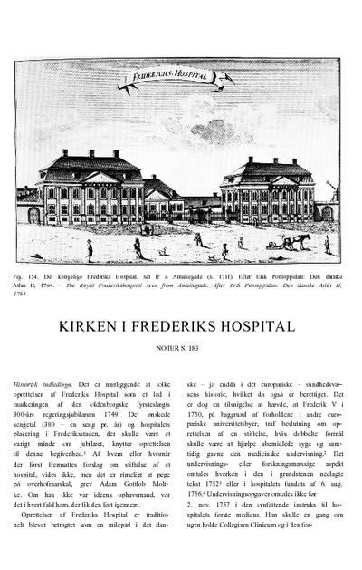 Kirken i Frederiks Hospital