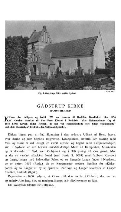 Gadstrup Kirke