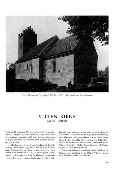 Vitten Kirke