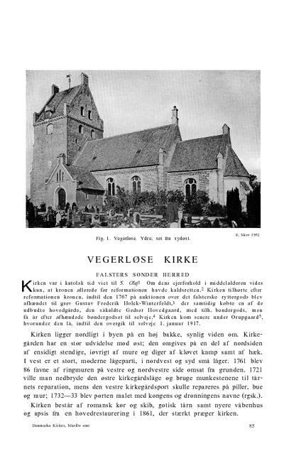 Væggerløse Kirke