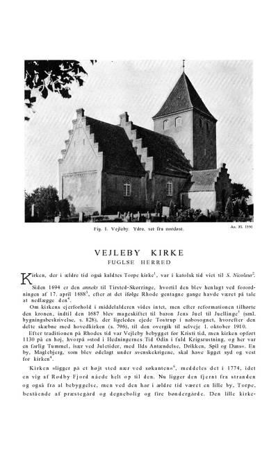 Vejleby Kirke