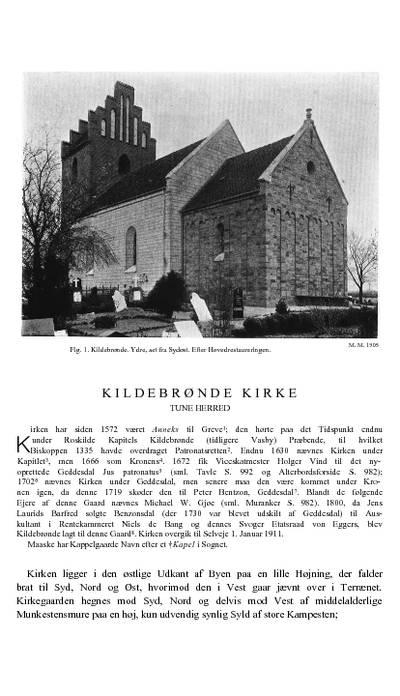 Kildebrønde Kirke