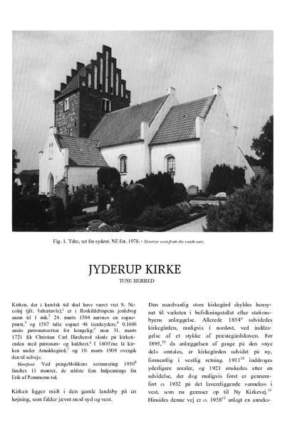 Jyderup Kirke