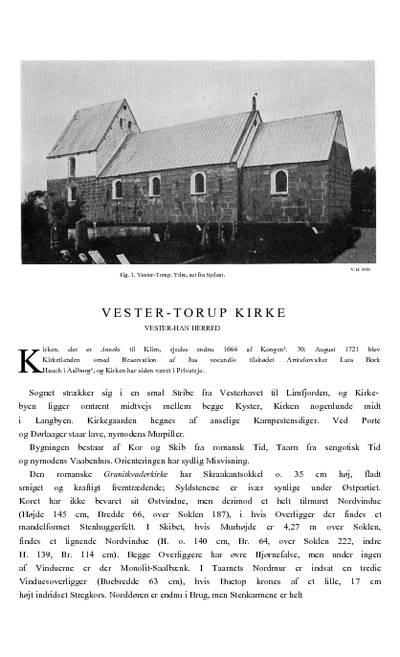 Vester Torup Kirke