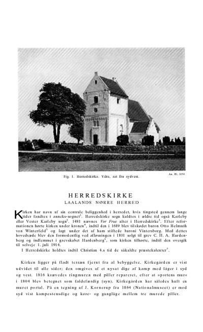 Herredskirke Kirke