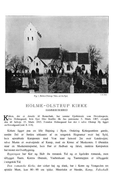 Holme-Olstrup Kirke
